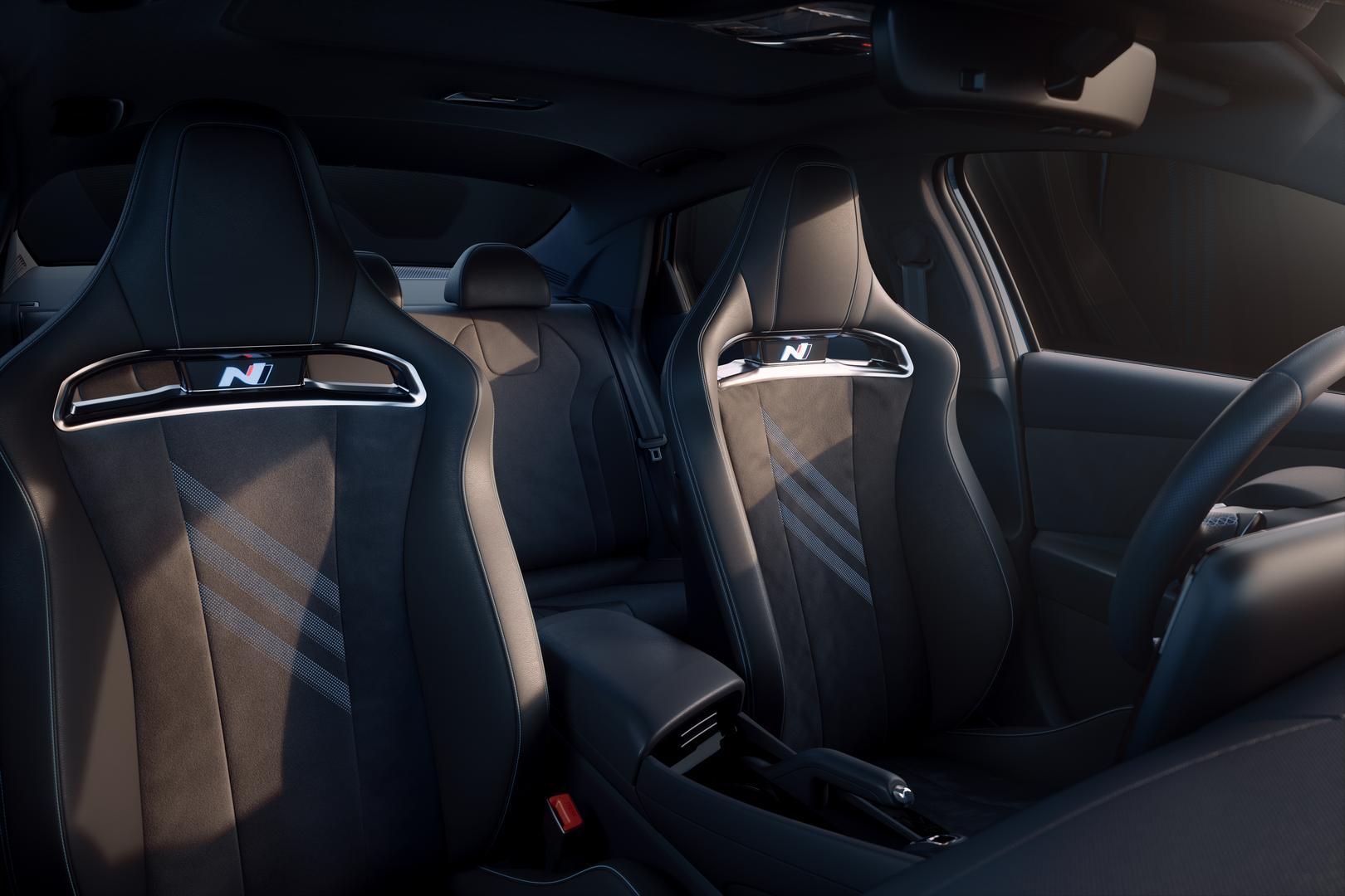 Hyundai Elantra N seats