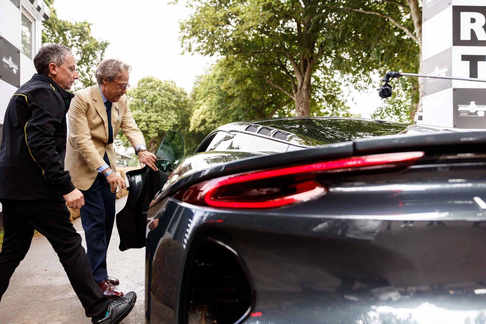 Lotus Emira taillight