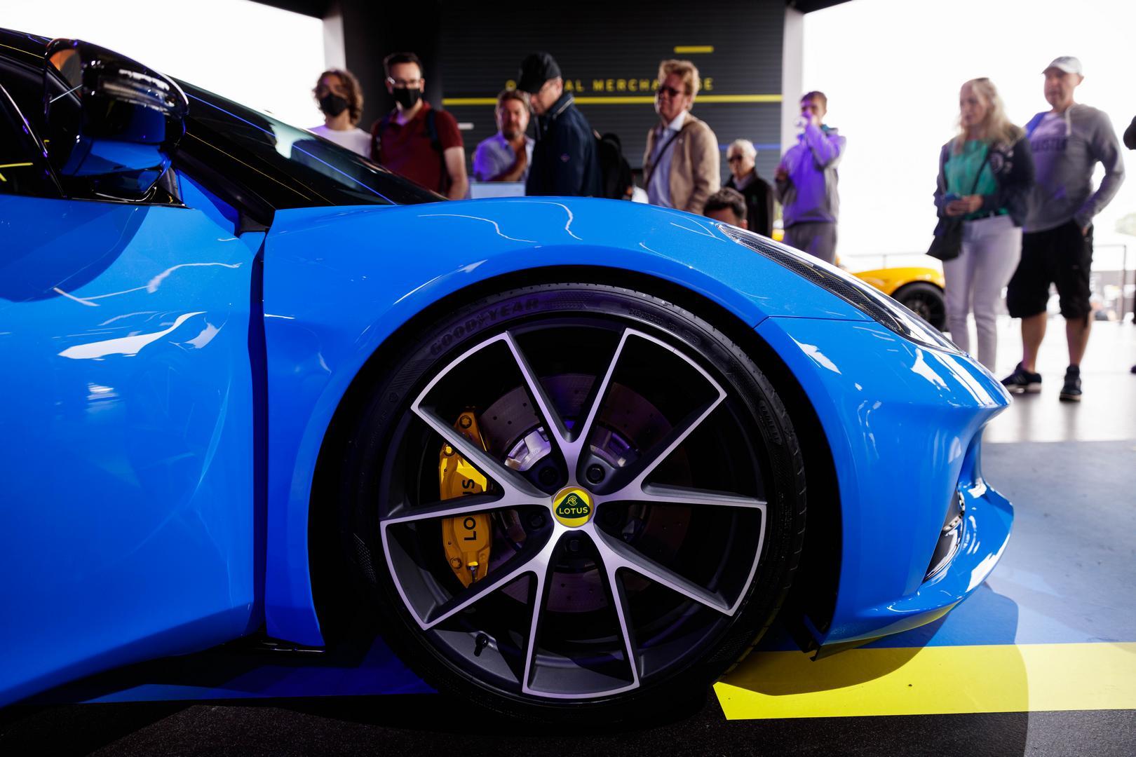 Lotus Emira wheels