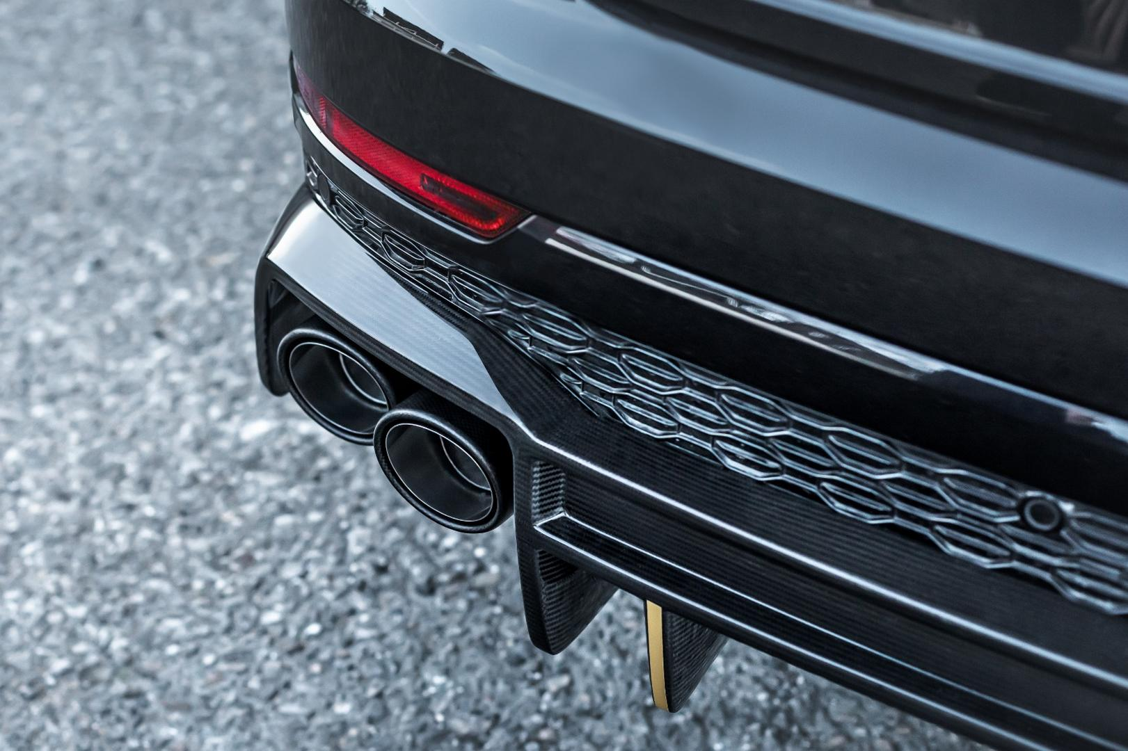 RS Q8 Exhaust System