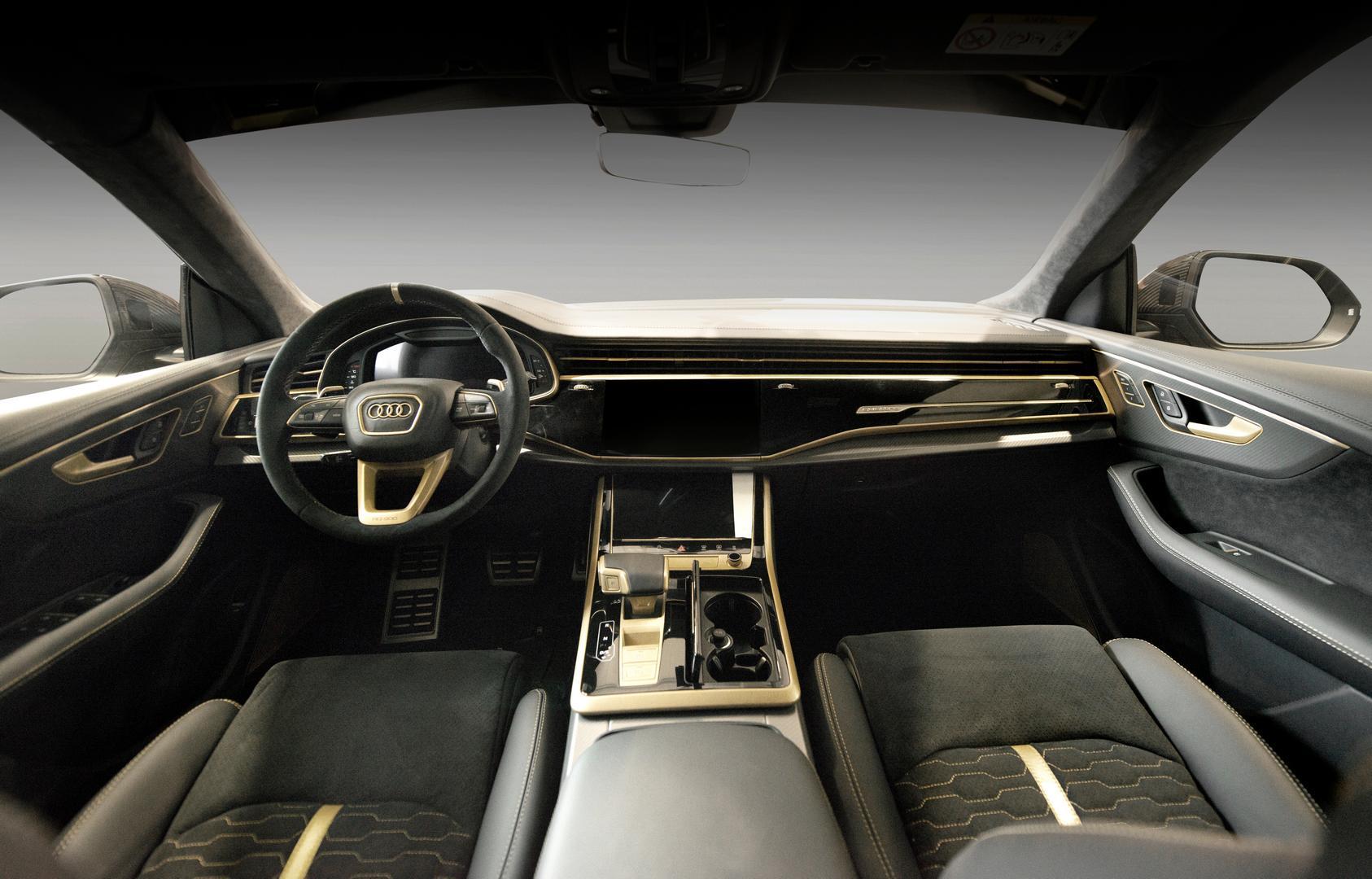 Manhart Audi RS Q8 interior