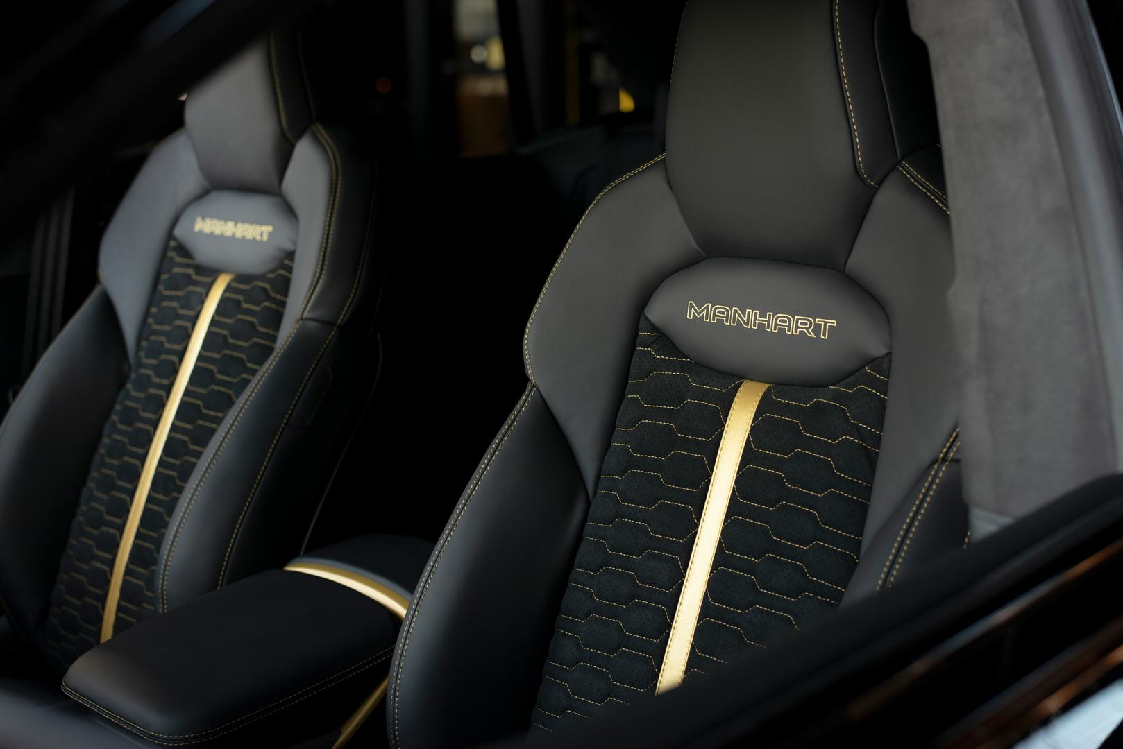 Manhart Audi RS Q8 seats