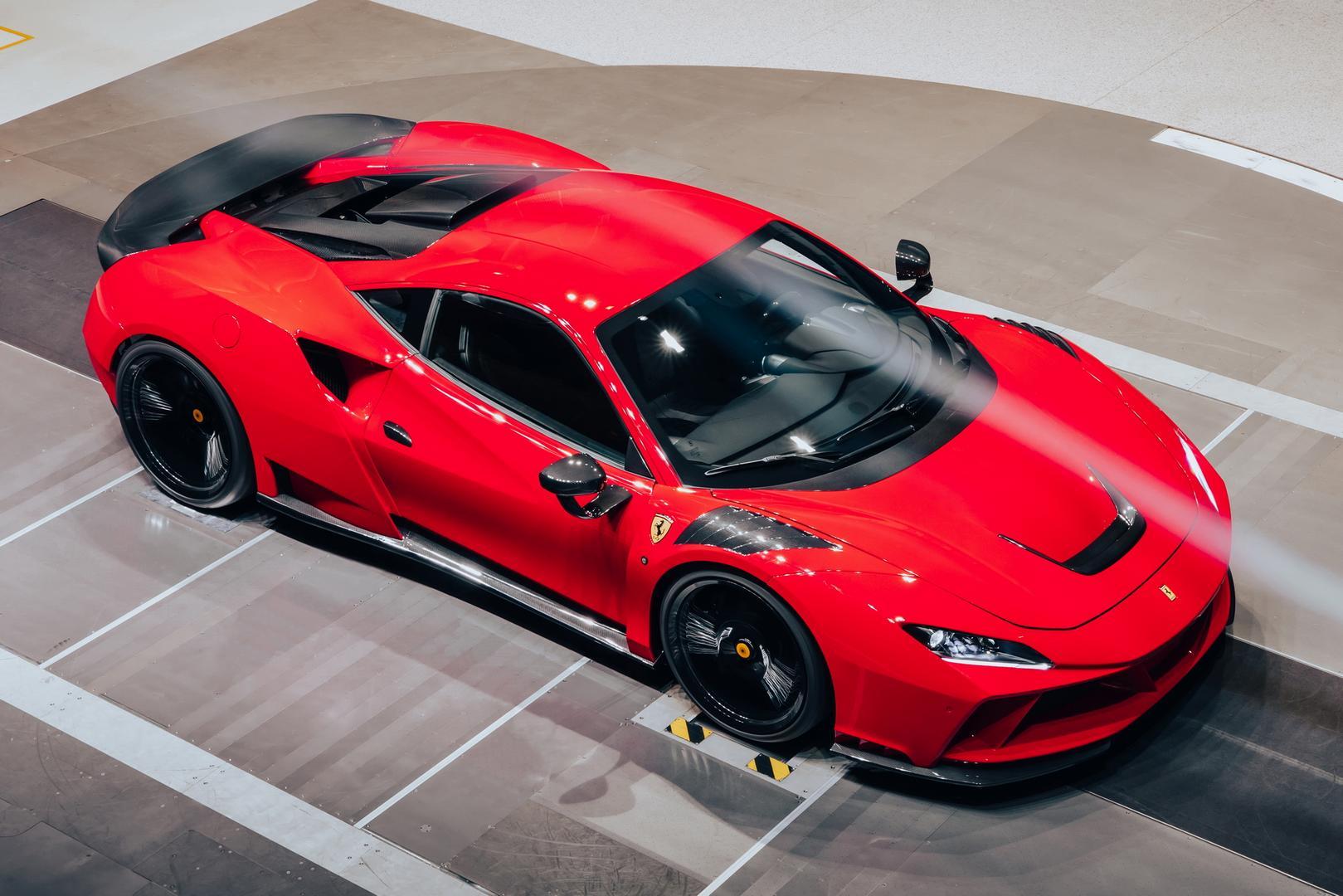 Rosso Corsa F8 Tributo