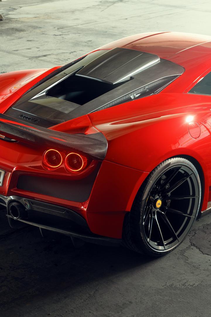 Ferrari F8 Tributo Hood Scoop