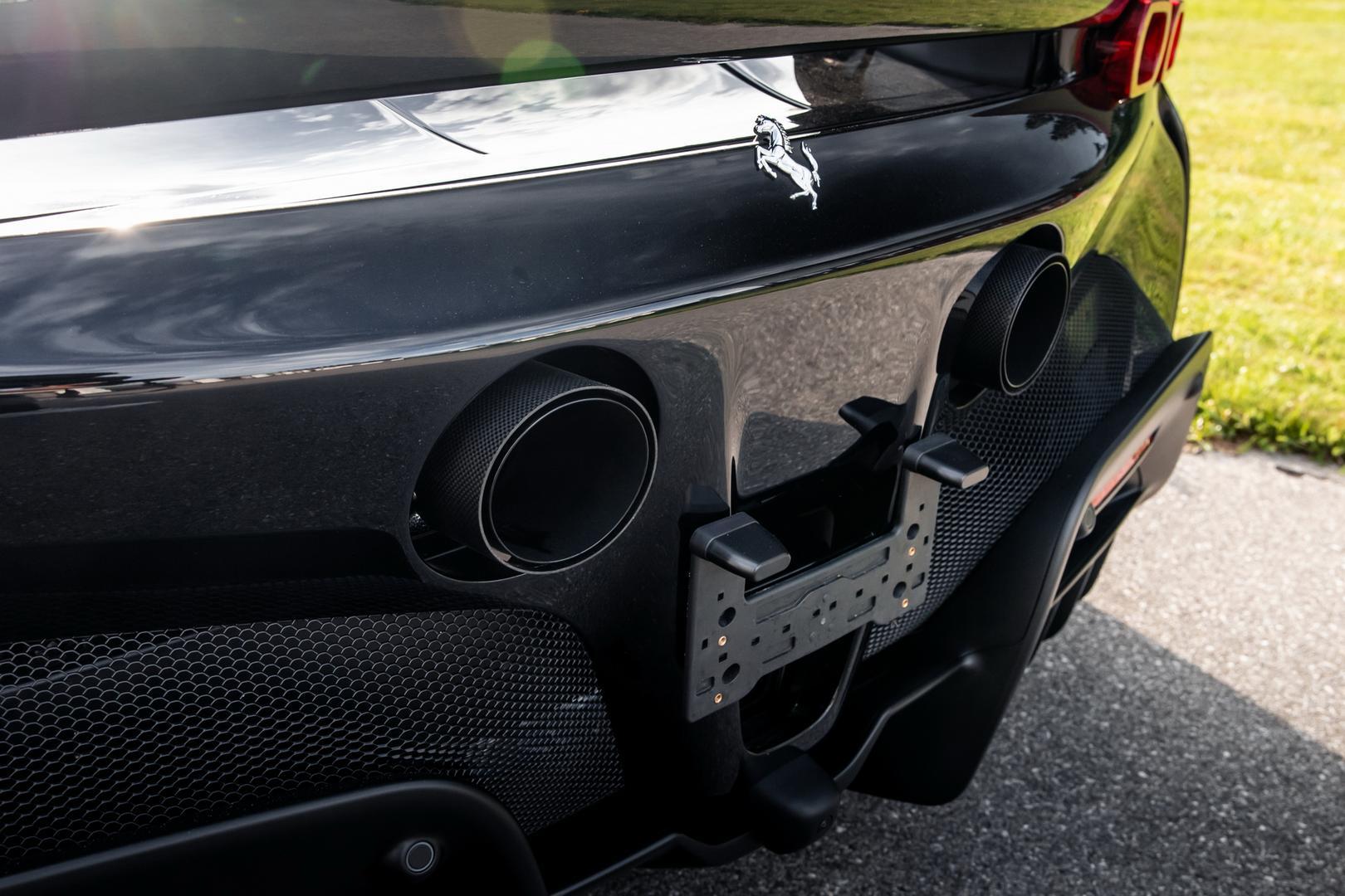 Novitec Ferrari SF90 exhaust