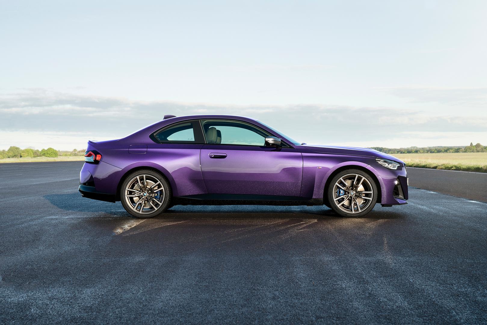 2022 BMW M240i xDrive side