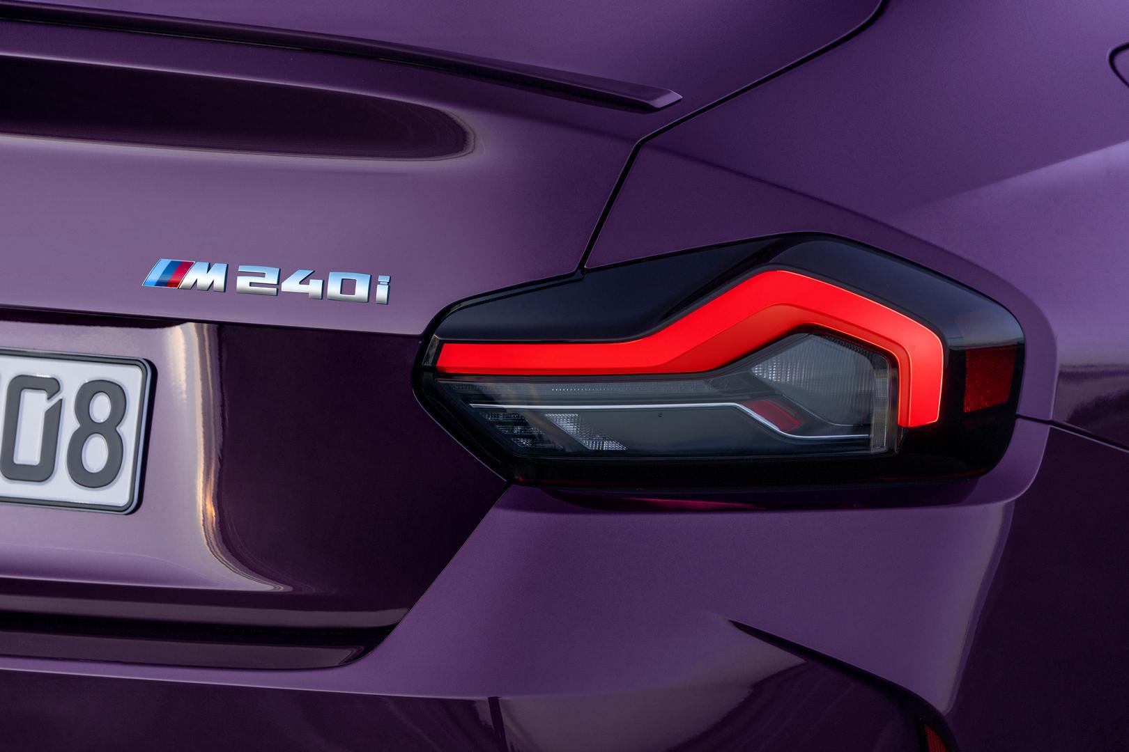 2022 BMW M240i taillights