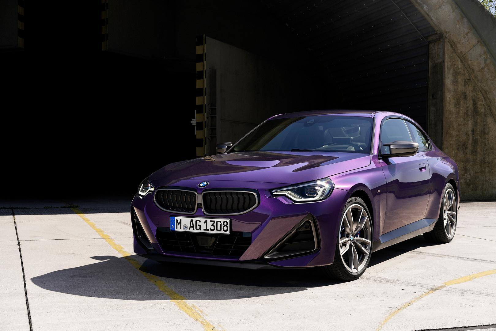 2022 BMW M240i Purple