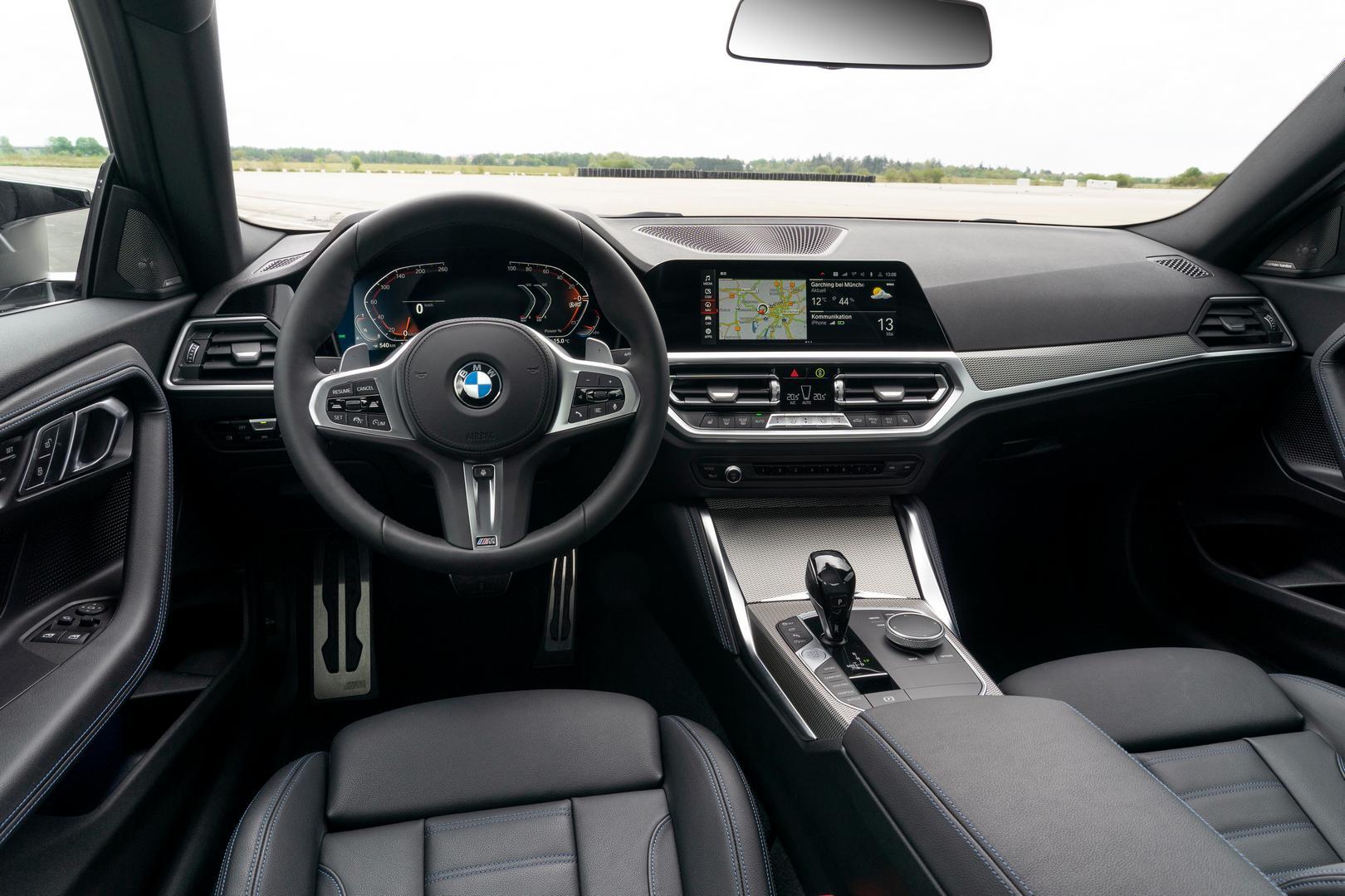 2022 BMW M240i interior