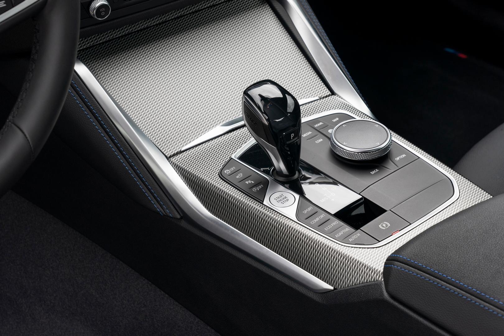 2022 BMW M240i gear knob