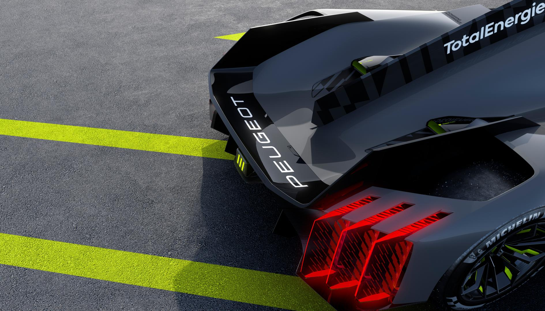 PEUGEOT 9X8 taillights