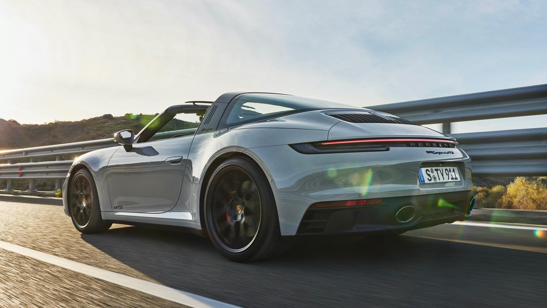 Porsche 911 GTS Convertible rear