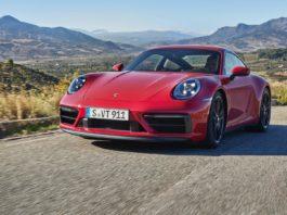 Red Porsche 911 GTS