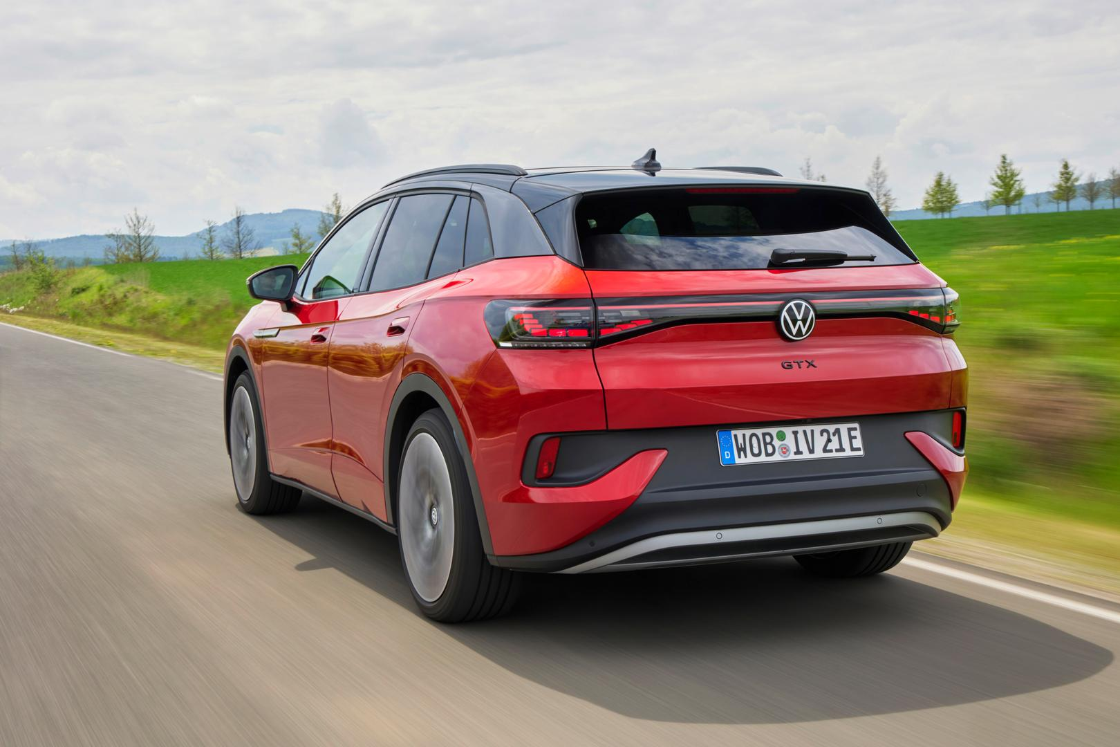 """Volkswagen ID.4 GTX: """"GTX"""" Performance Badge Officially Launched"""