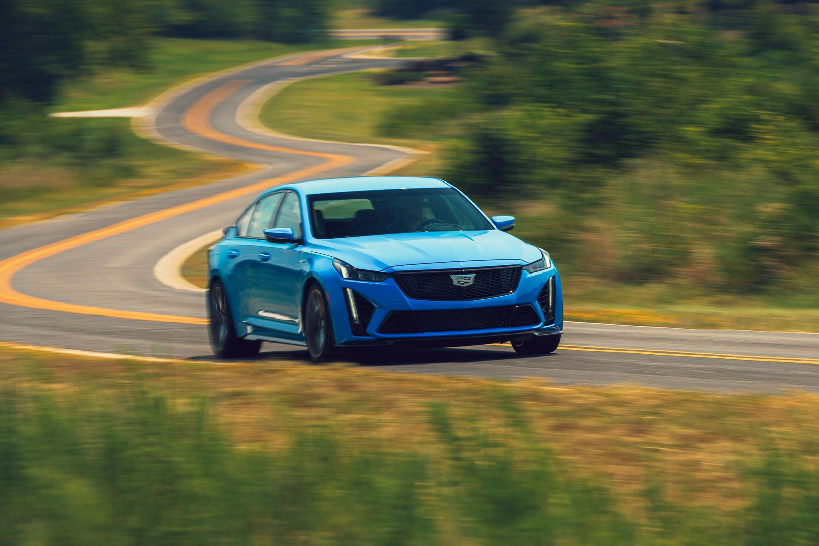 2022 Cadillac CTS-V Blackwing review
