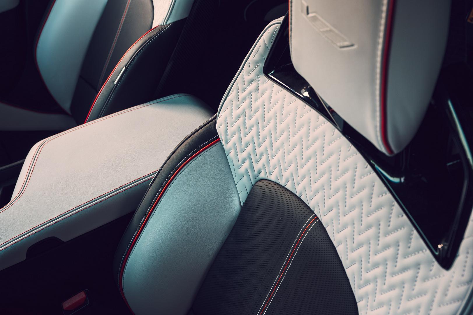 2022 Cadillac CTS-V Blackwing seats