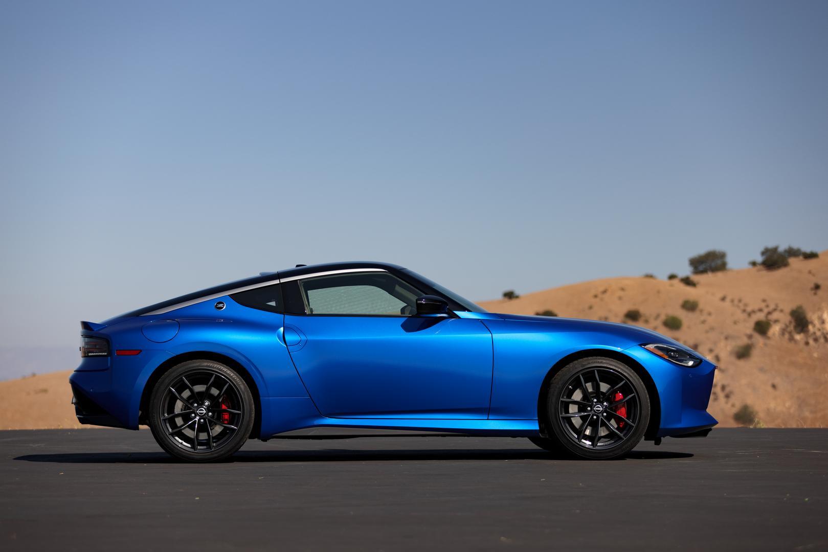 2022 Nissan Z Blue
