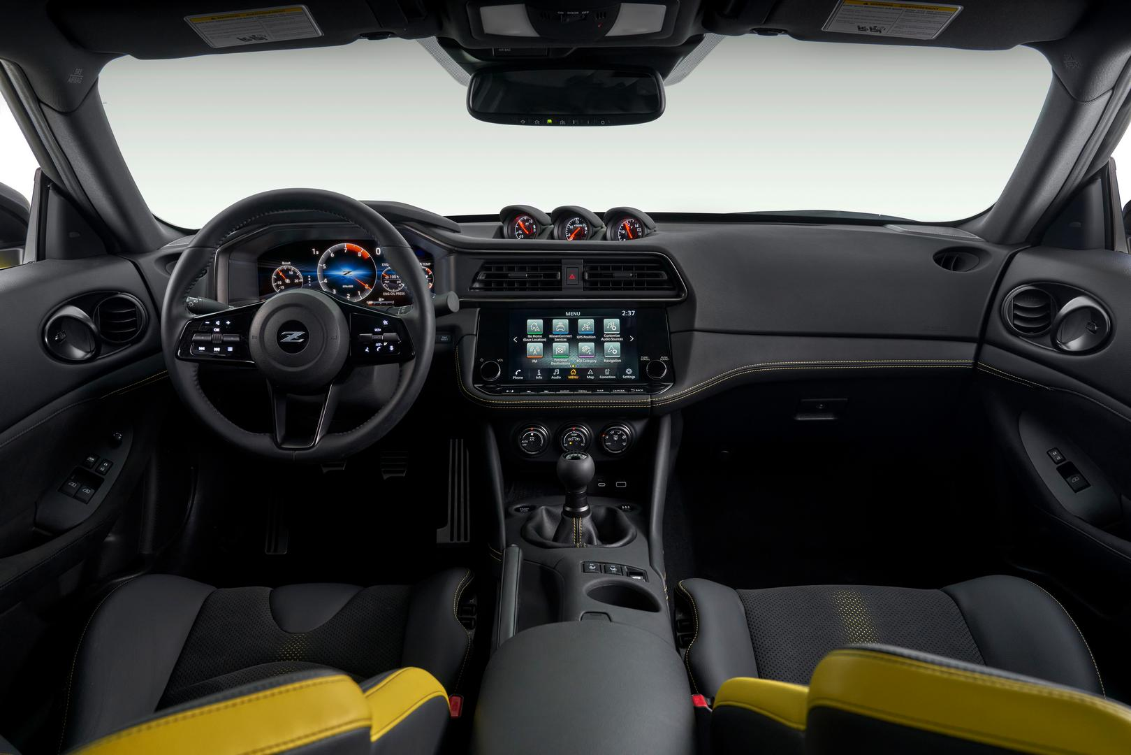 2022 Nissan Z Proto Spec interior