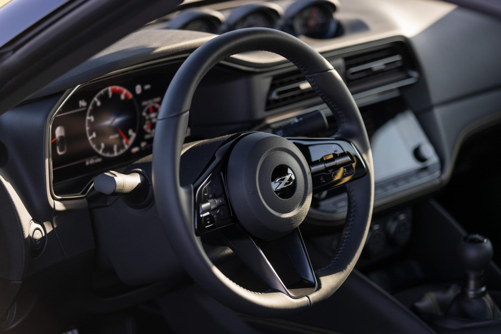 2022 Nissan Z steering wheel