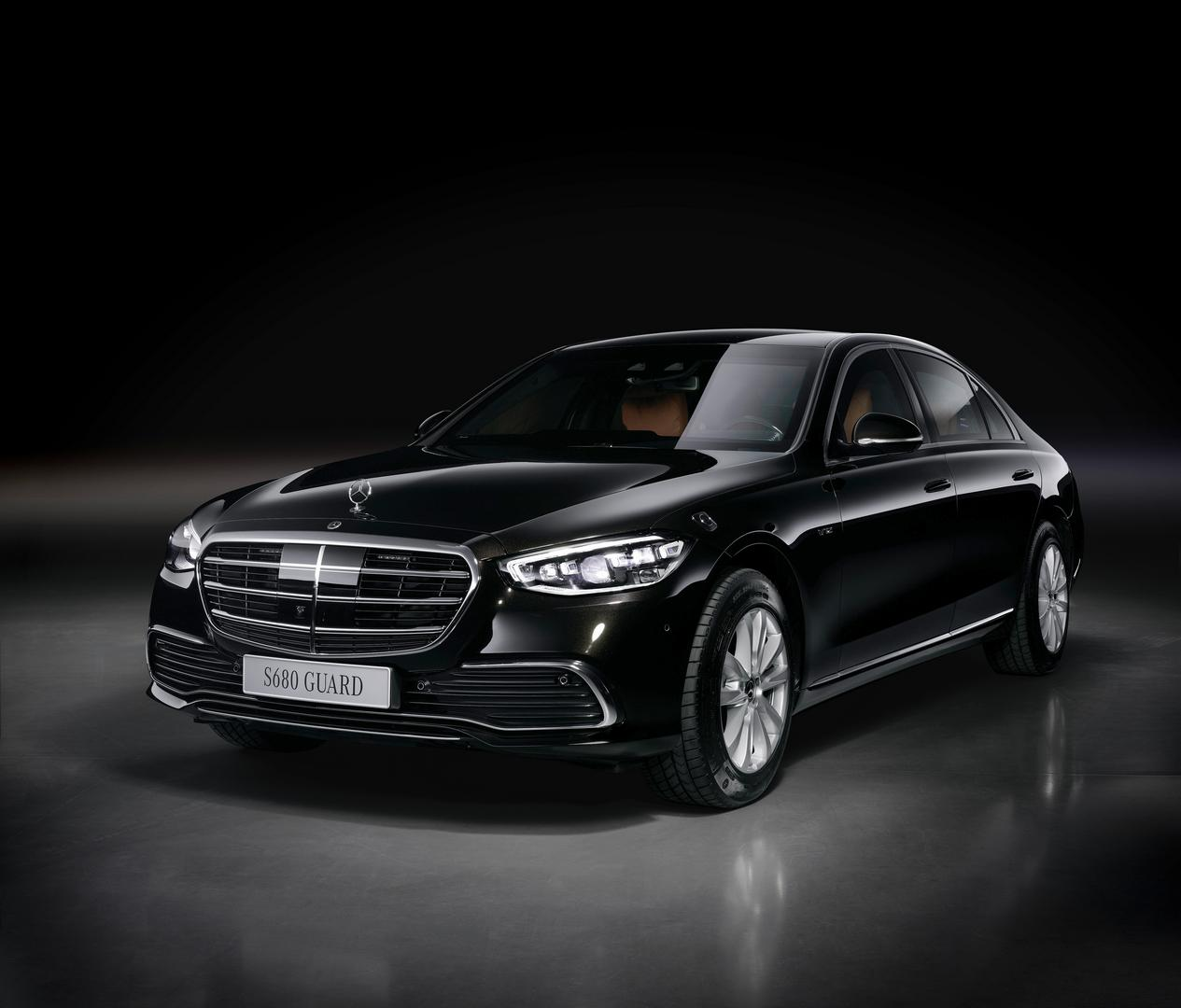 2022 Mercedes-Benz S680 Guard: Fully Armored S-Class for $535,000