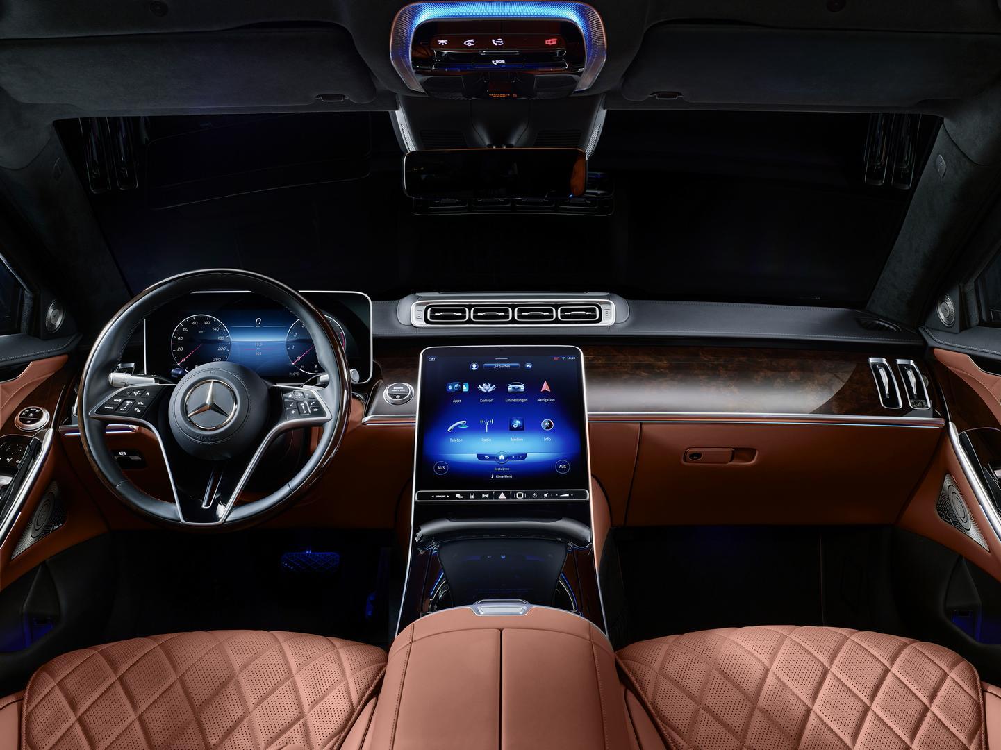 Mercedes-Benz S 680 GUARD interior