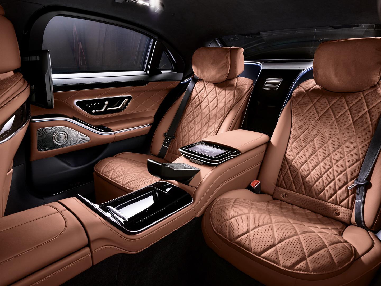 Mercedes-Benz S 680 GUARD cabin