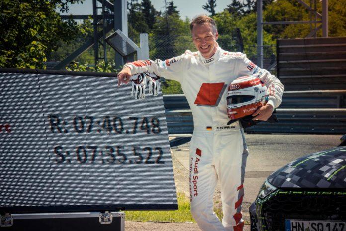 Audi RS 3 Lap Record Frank Stippler