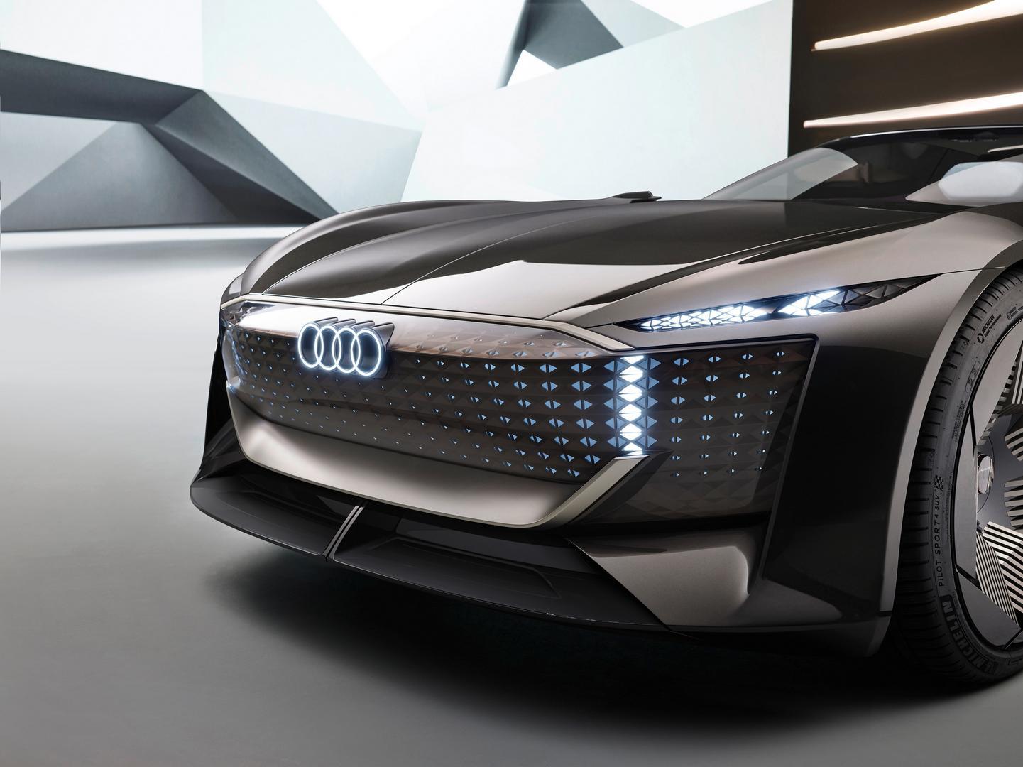 Audi skysphere lights