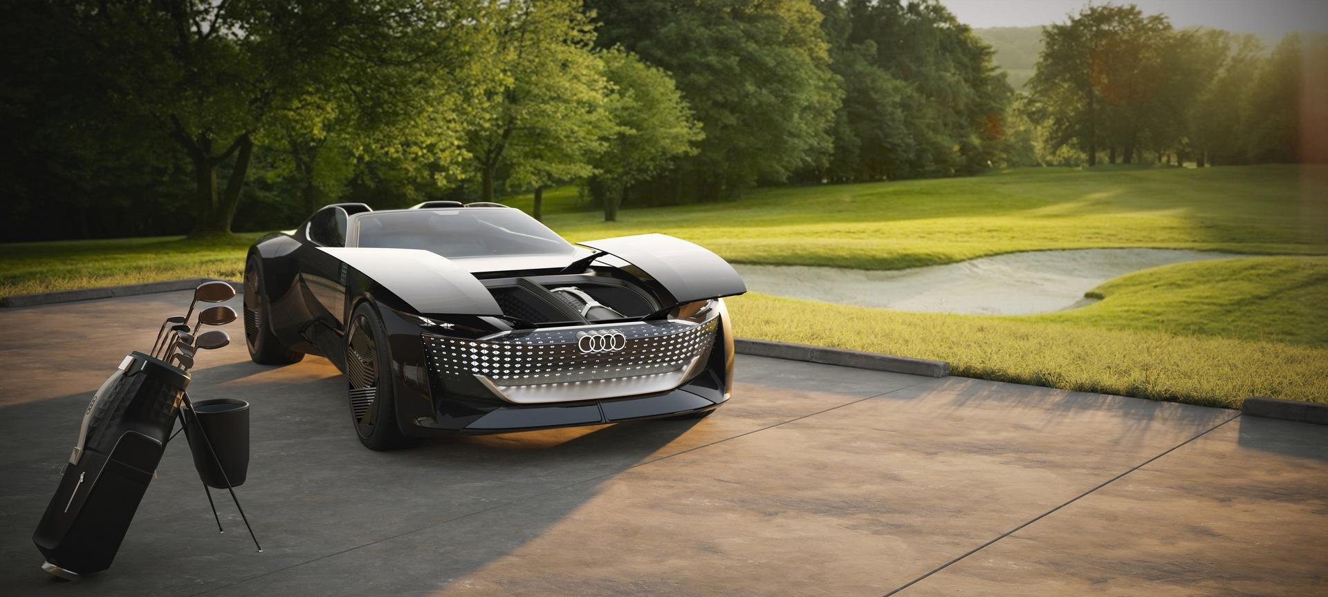 Audi Skysphere Concept: A Roadster and a Grand Tourer in One