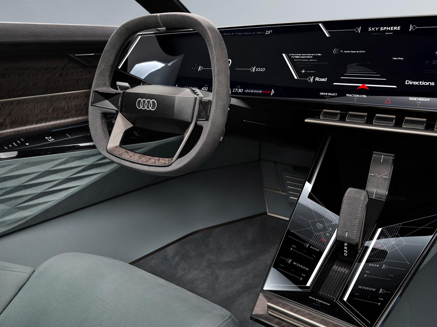 Audi skysphere interior