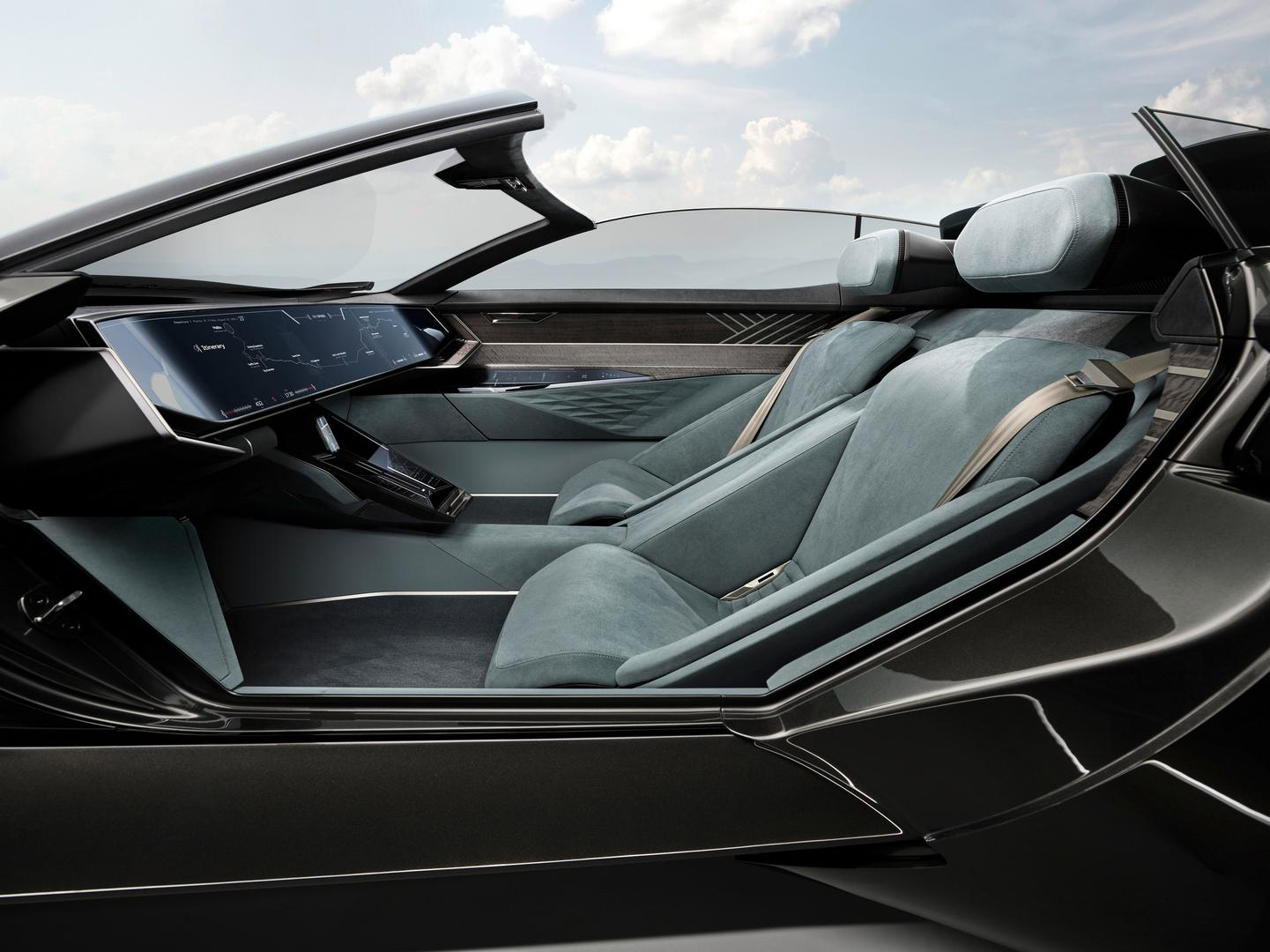 Audi skysphere seats