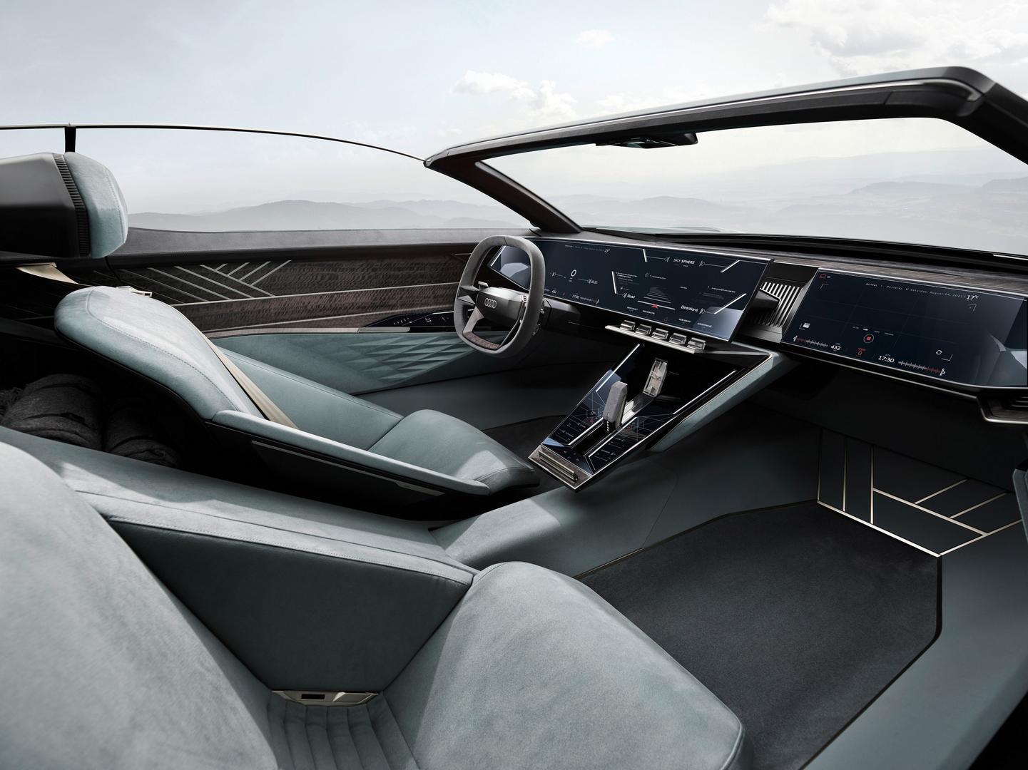 Audi skysphere cabin