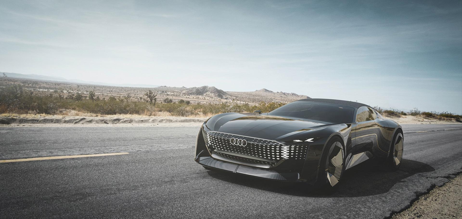 Audi skysphere grey