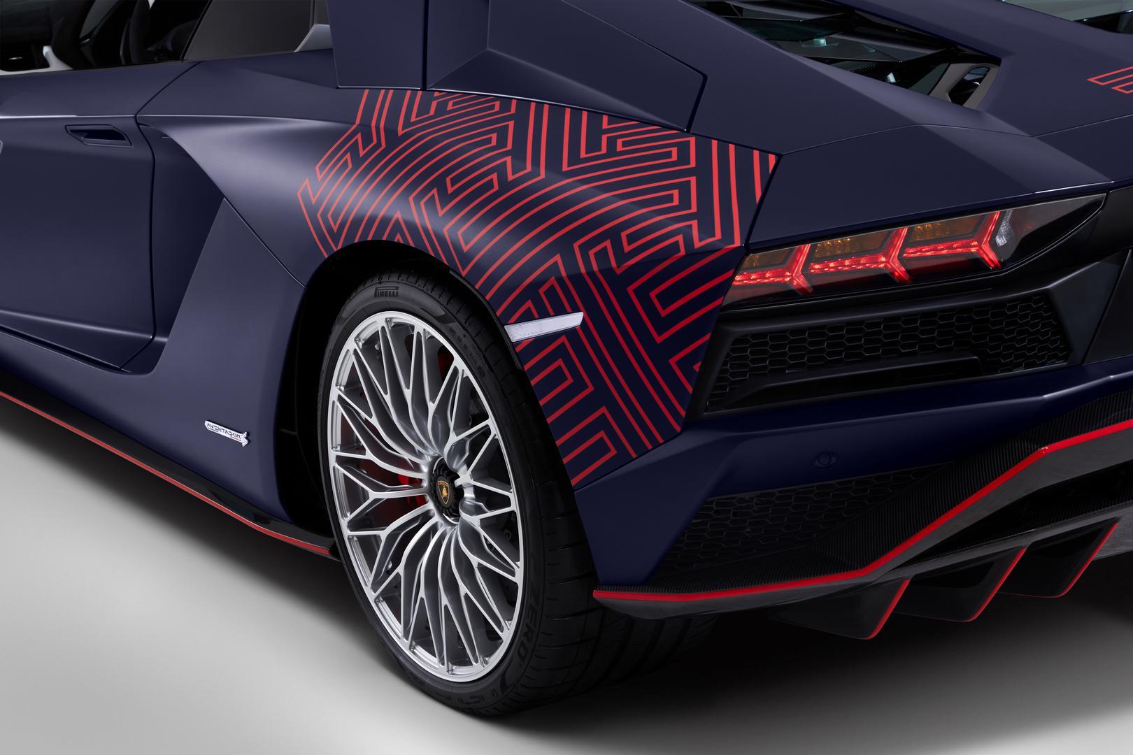 Aventador S Roadster wheels