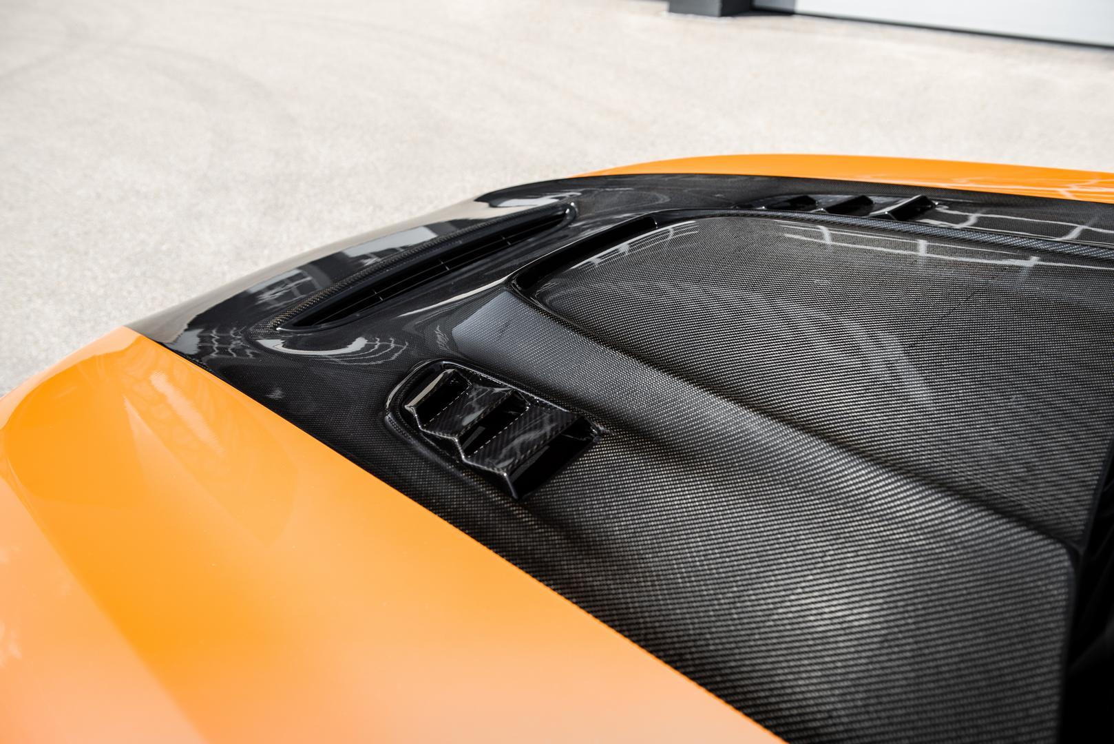 BMW M8 carbon hood