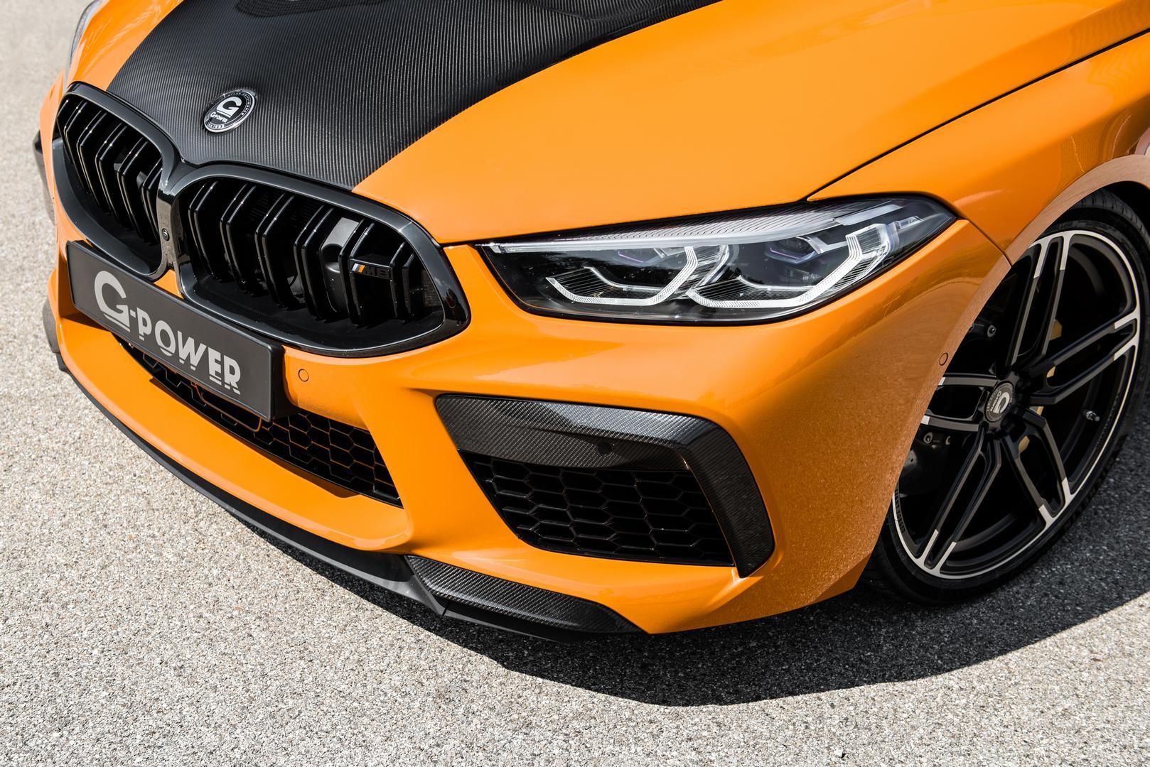 BMW M8 headlight