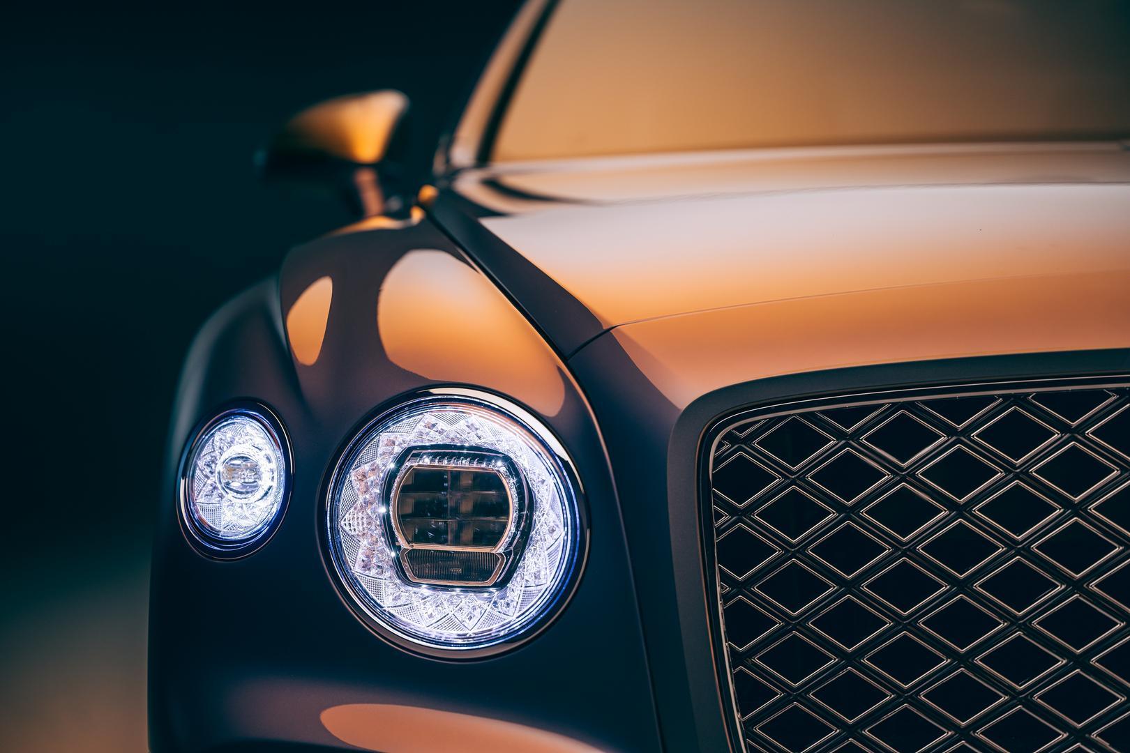 Bentley Flying Spur Mulliner headlights