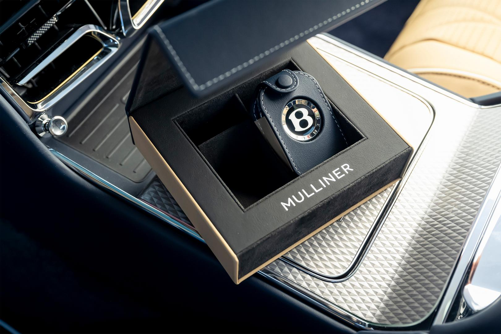 Bentley Flying Spur Mulliner key pouch