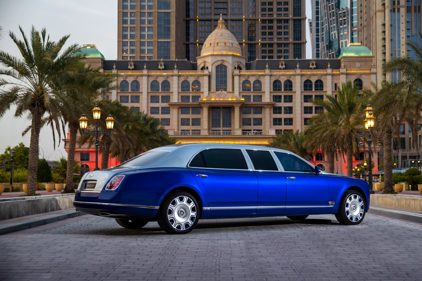 Bentley Mulsanne Grand Limousine by Mulliner for Sale – Only 5 Were Built