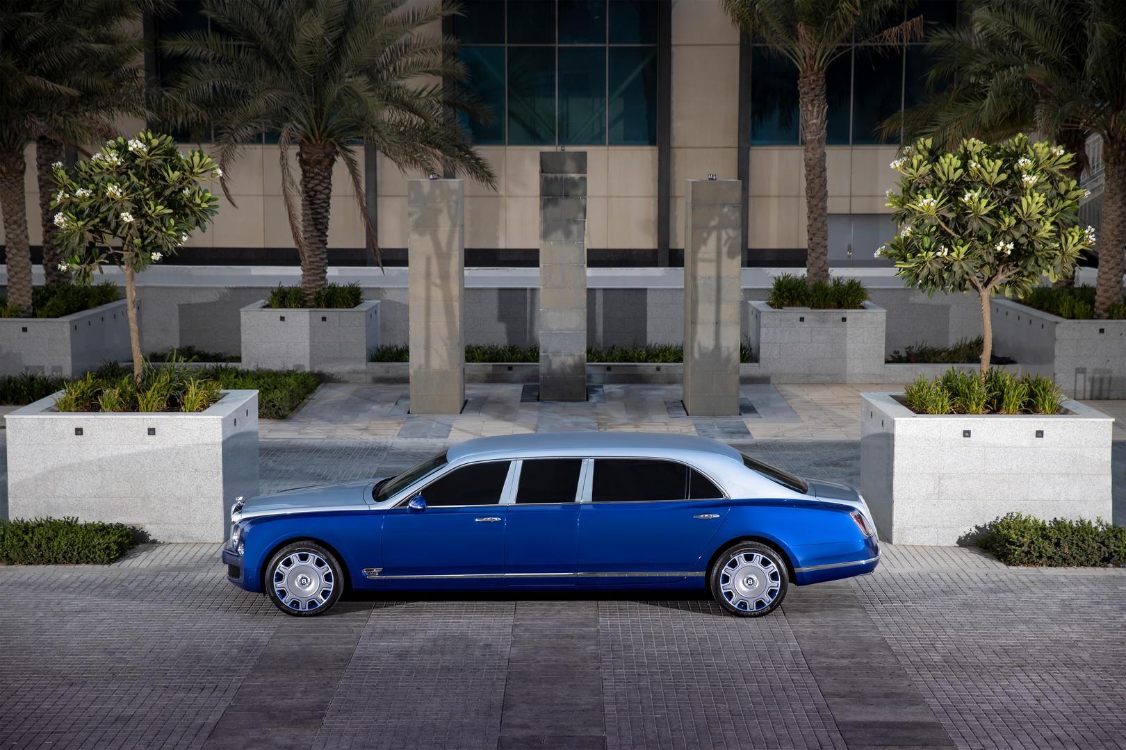 Bentley Mulsanne Grand Limousine side