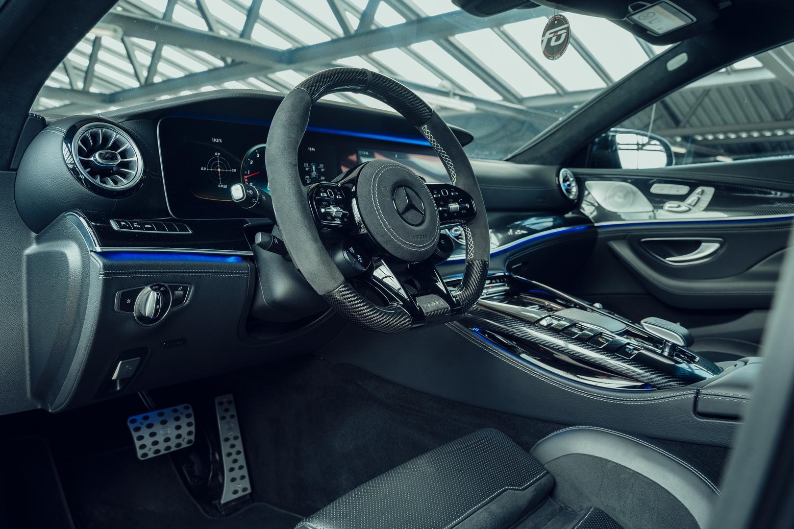 Brabus GT800 interior