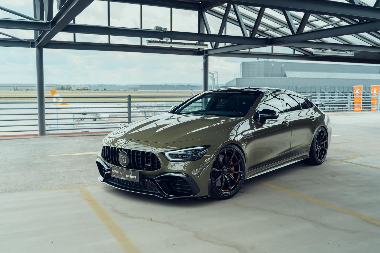 Badlands Green AMG GT 63 Gets the Brabus GT800 Treatment