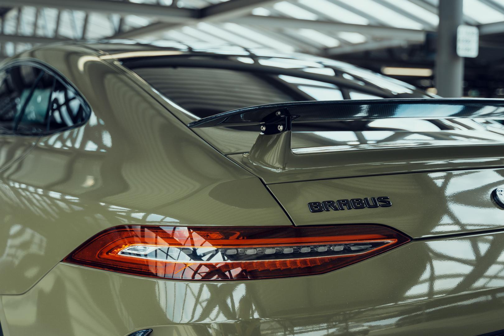 Brabus GT800 rear lights