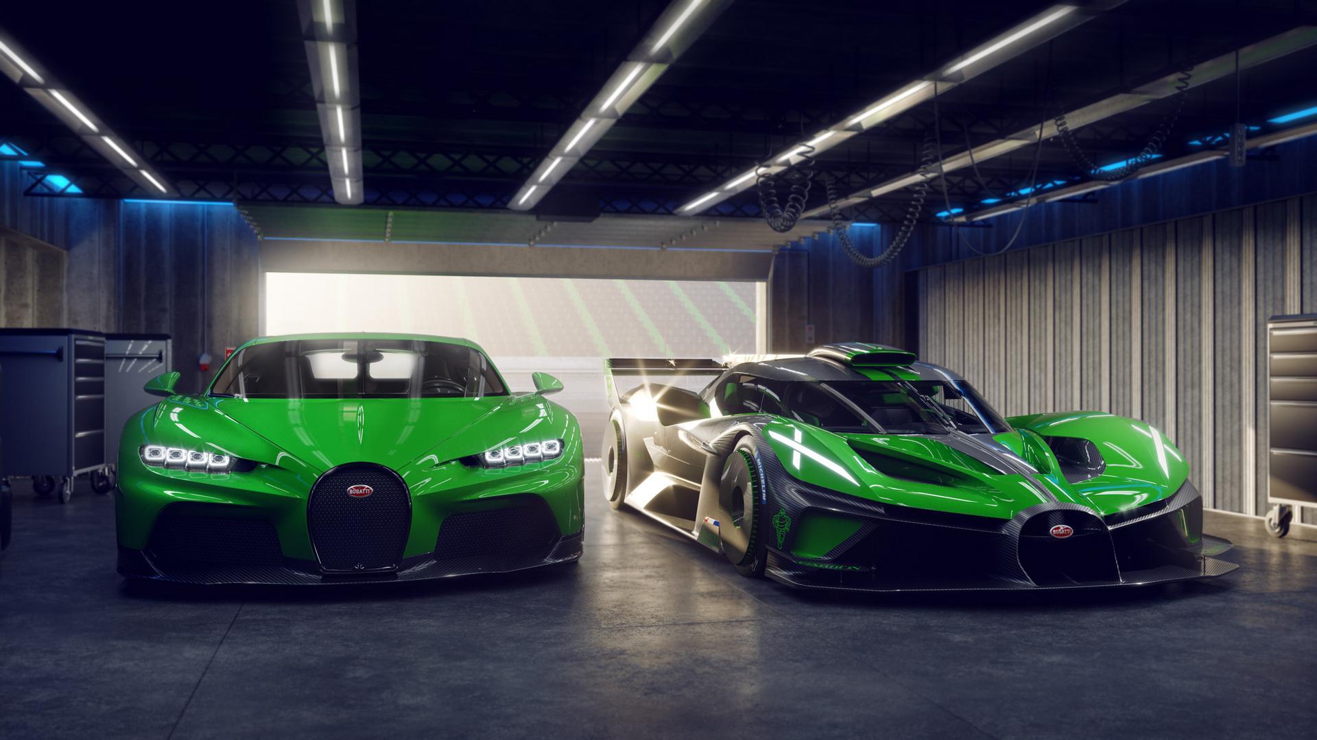 Bugatti Chiron SS vs Bolide