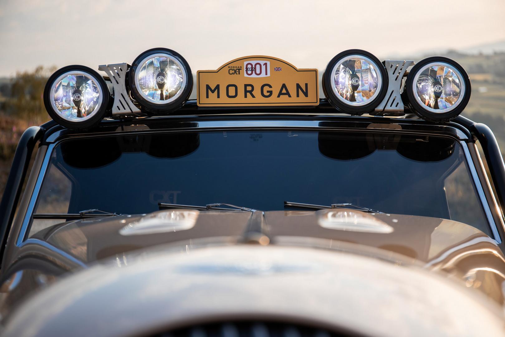Morgan Plus Four CX-T flood lights