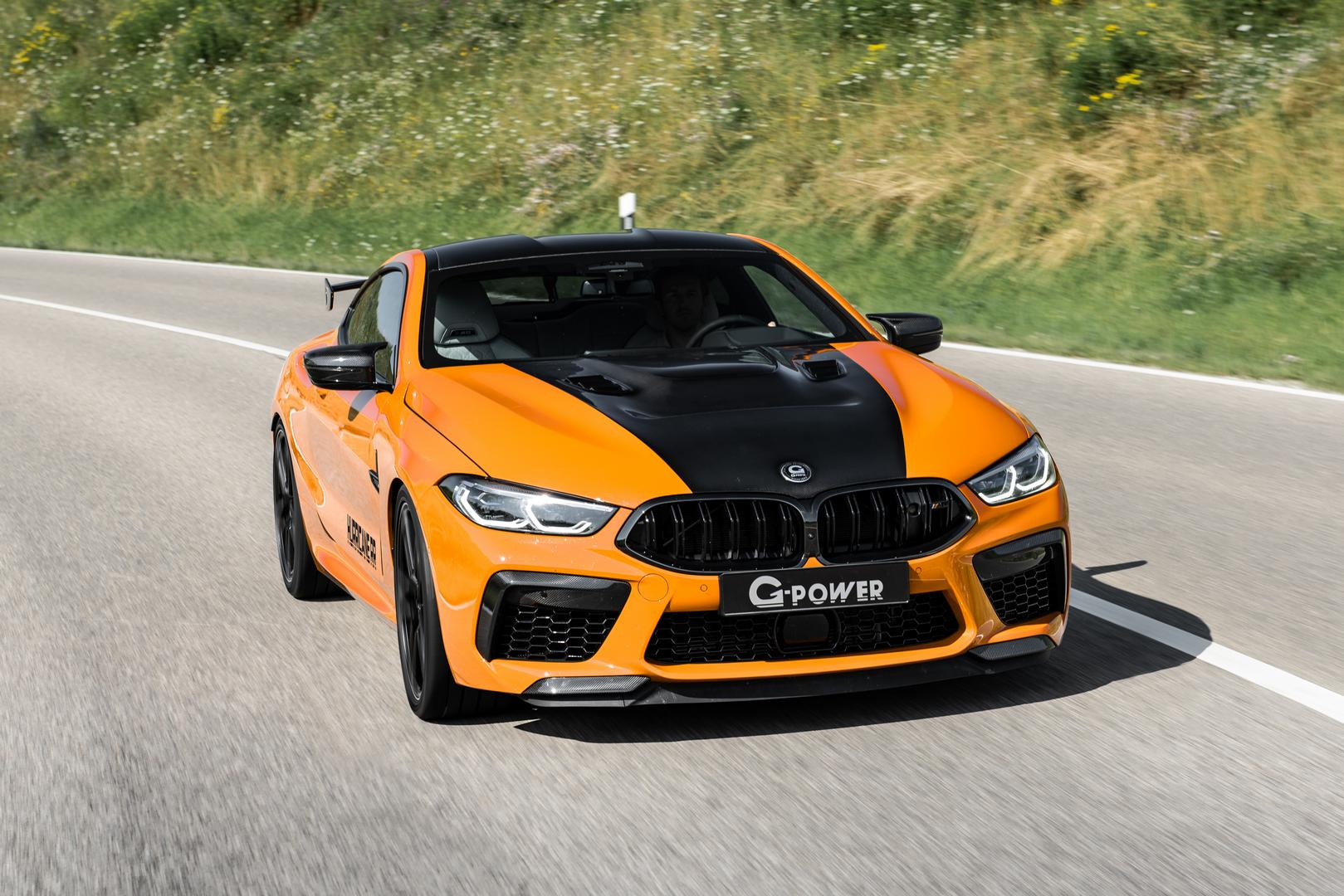G-Power BMW M8 Hurricane RR specs