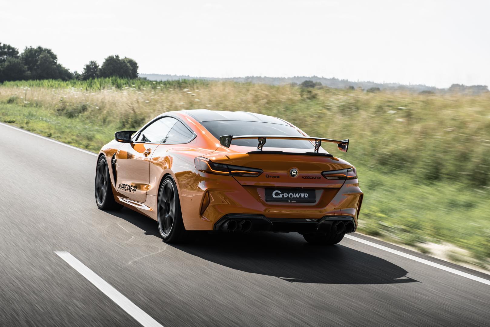 G-Power BMW M8 rear