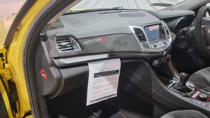 Holden HSV GTSR W1 interior