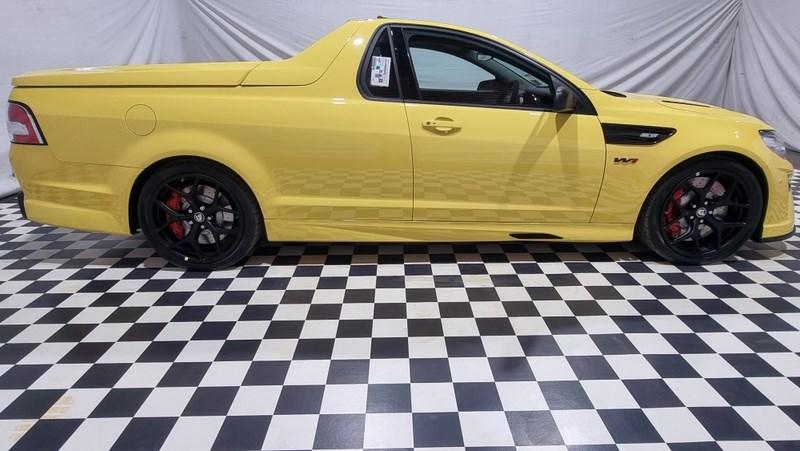 Holden HSV GTSR W1 side