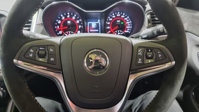 Holden HSV GTSR W1 steering wheel
